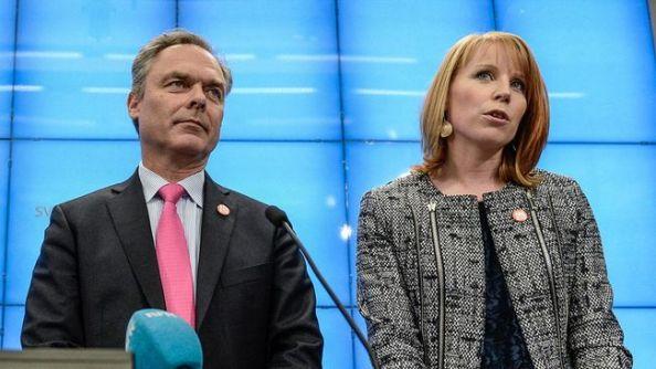 Jan Björklund-Annie Lööf det nya högerparet
