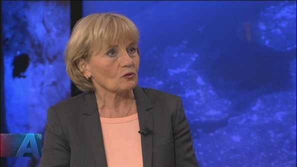 Kerstin Holm Politisk analytiker SVT