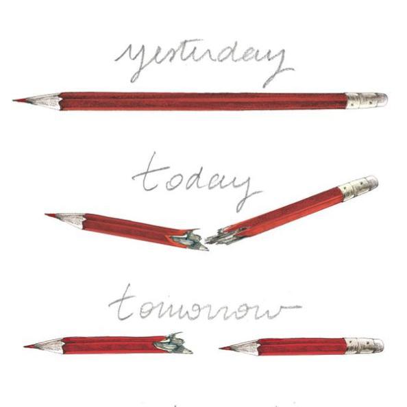 Den brittiska illustratören Lucille Clerc spred den här bilden med ett hoppfullt budskap på Twitter, en bild som också har fått spridning genom att den hemlige gatukonstnären Banksy delat den på Instagram.