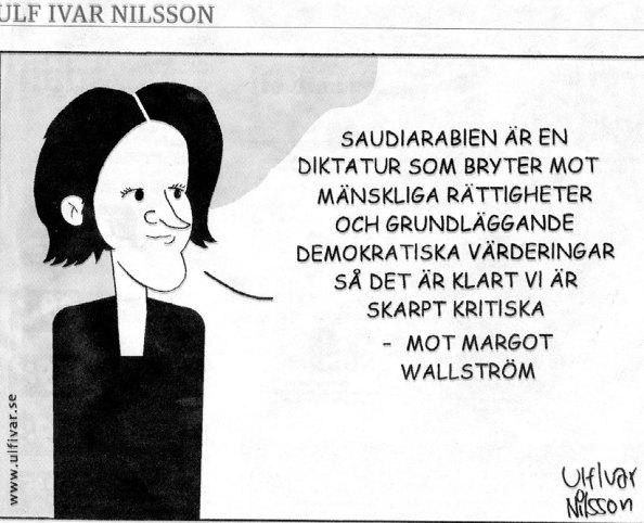 Ulf Ivar Nilsson karikatyr