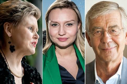 """På lördag väljs Ebba Busch Thor som KD:s nya partiledare – något som tunga KD-profiler reagerar mot. """"Om hon står för den politik som hon själv gör reklam för är KD inte det parti jag hör hemma i"""", säger advokaten Peter Althin. FOTO: TT"""