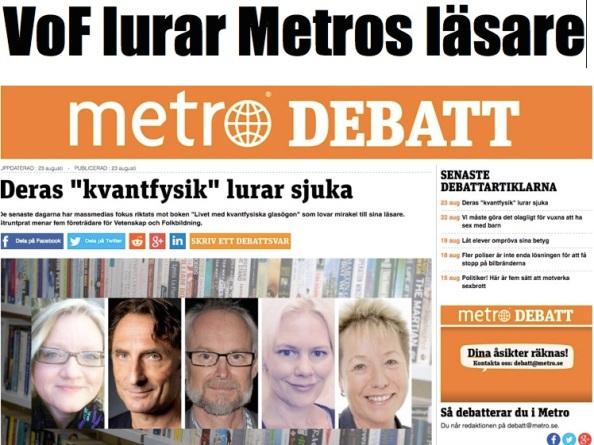 Vof lurar Metros läsare