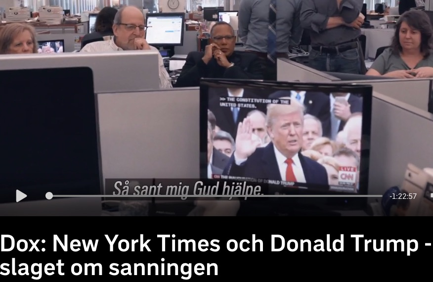 Journalistik mot Trumps fejknews