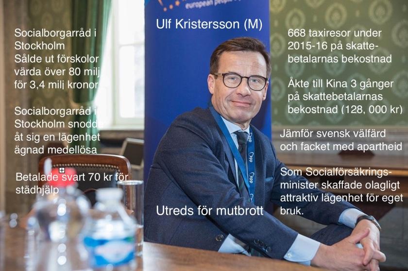 Ulf Kristersson – Inte min statsminister! | Börje Peratt - Debatt