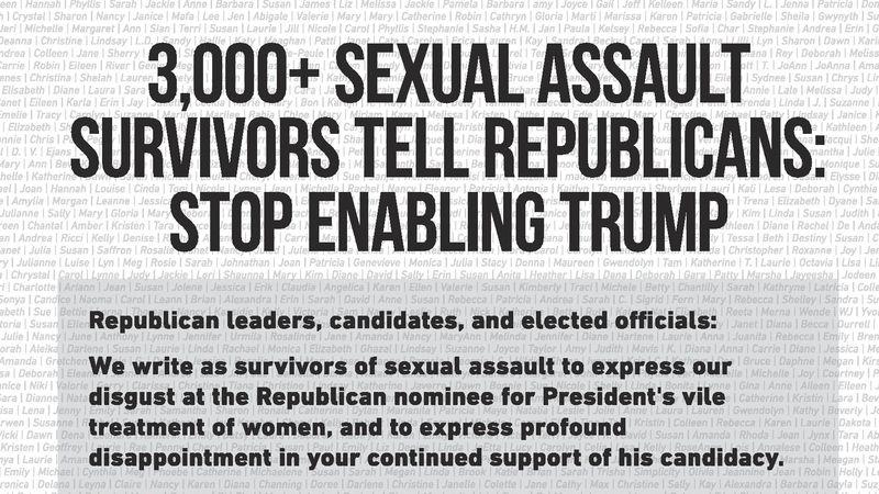 Donald Trump och sexslaveri