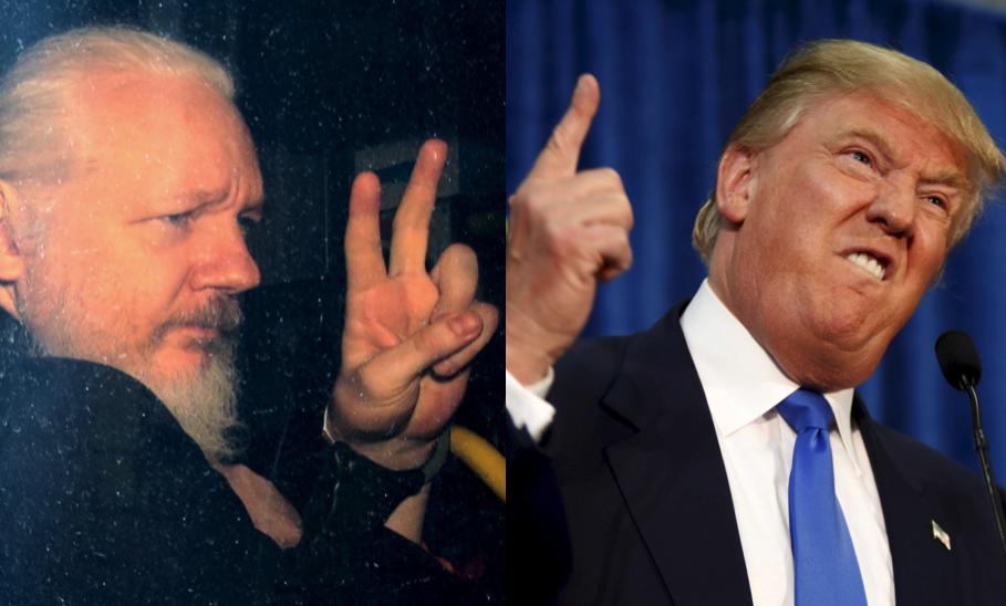 """""""Julian Assanges vedervärdiga, äckliga och vidriga svek"""""""